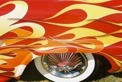 flamm för bilsamlarear Arkivbild