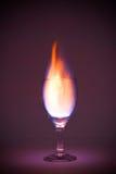 flamm för drink Royaltyfria Foton