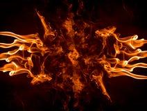 flamm för fingrar royaltyfria foton