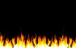 flamm för kant Royaltyfri Fotografi