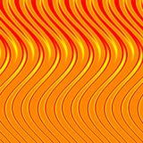 flamm orangen stock illustrationer
