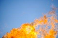 flamm skyen Arkivfoton