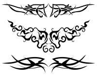 flamm tatueringen Royaltyfri Bild