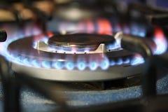flamm ugnen Fotografering för Bildbyråer