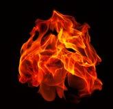 flamma Royaltyfri Foto