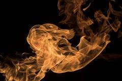 1 flamma Arkivbild