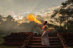 Flamma Royaltyfri Fotografi