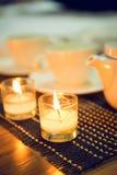 Flamma av stearinljuset Royaltyfria Foton