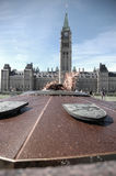 Flamma på parlamentkullen Royaltyfri Fotografi