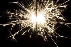 flamma sparks Royaltyfria Bilder