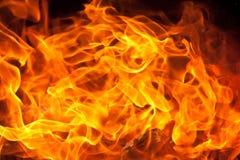 Flammabakgrund Royaltyfria Bilder