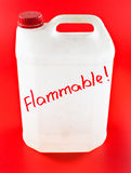 Flammable canister Stock Photos