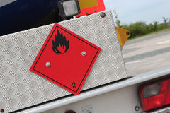 Flammable liquids Stock Images