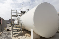 Flammable liquids tank Stock Image