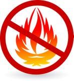 Flammable logo Stock Image