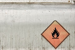 Flammable material Royalty Free Stock Images