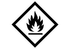 Free Flammable Object Icon Royalty Free Stock Image - 117780226