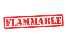 FLAMMABLE Royalty Free Stock Images