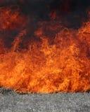 flammande brand fotografering för bildbyråer