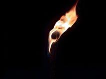 Flammande fackla Royaltyfria Bilder