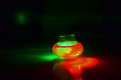 Flammande ljusa leksaker Arkivfoto