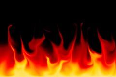 Flammar arkivfoton