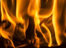 Flammar bakgrund Royaltyfri Fotografi