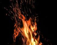 Flamme éternelle Photographie stock libre de droits