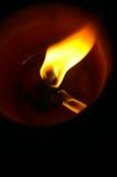 Flamme 01 d'incendie Images libres de droits