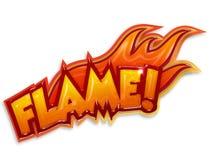 Flamme stock abbildung
