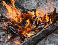 Flamme Stockbild