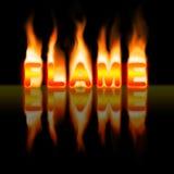 Flamme Illustration de Vecteur