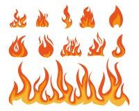 flamme Stockbilder