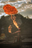 flamme Photographie stock libre de droits