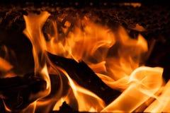 Flamme abstraite du feu de flamme image stock