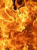 Flamme brûlante Image stock
