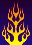 Flamme décorative Photos libres de droits