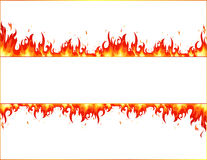 Flamme d'incendie illustration stock