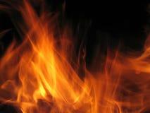 Flamme d'incendie Photos stock
