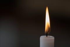 Flamme de bougie Photos libres de droits