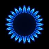 Flamme de gaz naturel. Vecteur. illustration stock
