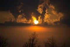 Flamme de matin Photographie stock libre de droits