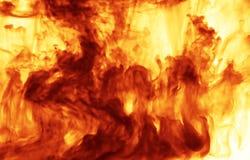 Flamme des Feuers Stockbild
