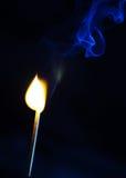 Flamme et fumée images libres de droits