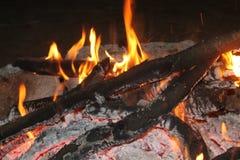 Flamme, Feuer Stockbild