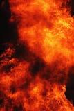 Flamme-Feuerhintergrund Lizenzfreies Stockfoto