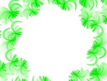 Flamme florale de fractale abstraite Images libres de droits