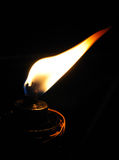 Flamme im Wind Stockfotografie