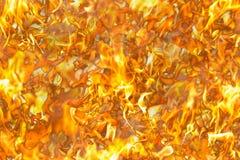 Flamme rouge Langues du feu dans un collage images libres de droits