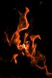 Flammen. Stockfotografie
